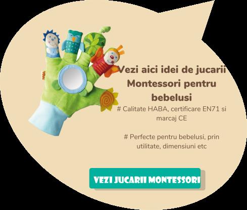banners Montessori bebelusi